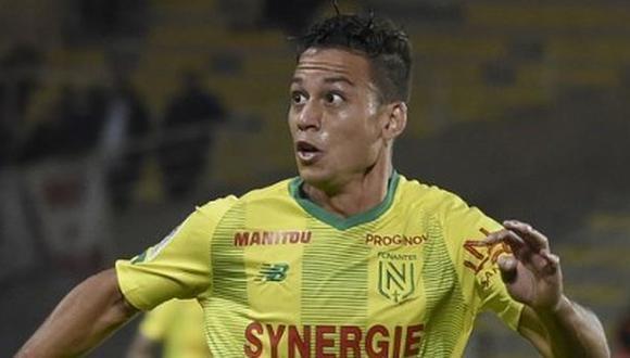 Cristian Benavente participó en 12 partidos de Nantes en la temporada 2019-20 de la Ligue 1. (Foto: AFP)