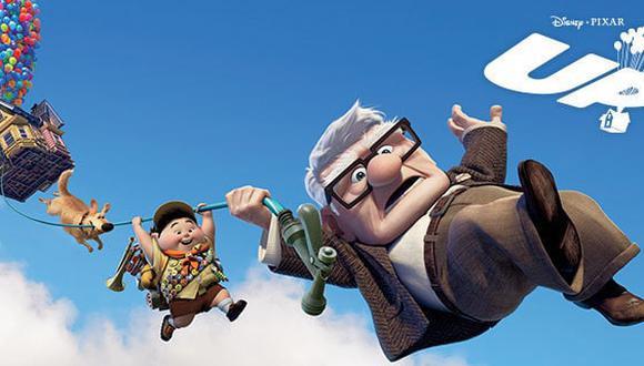 """¿Cuántos globos de helio se necesitarían para levantar una casa como en """"Up""""? (Foto: Pixar)"""