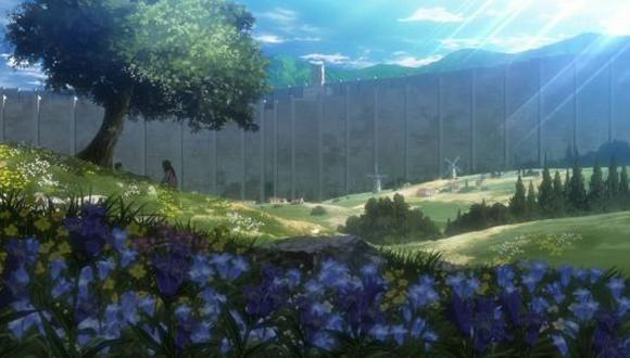 """Al parecer, la niña y el árbol tienen un significado mayor para """"Shingeki no Kyojin"""" (Foto: Crunchyroll)"""