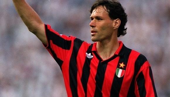 Marco van Basten se retiró del fútbol en 1995. (Foto: AFP)