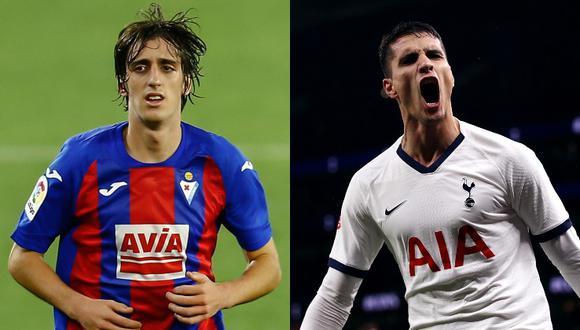 Sevilla y Tottenham acordaron traspasos de Bryan Gil y Erik Lamela.