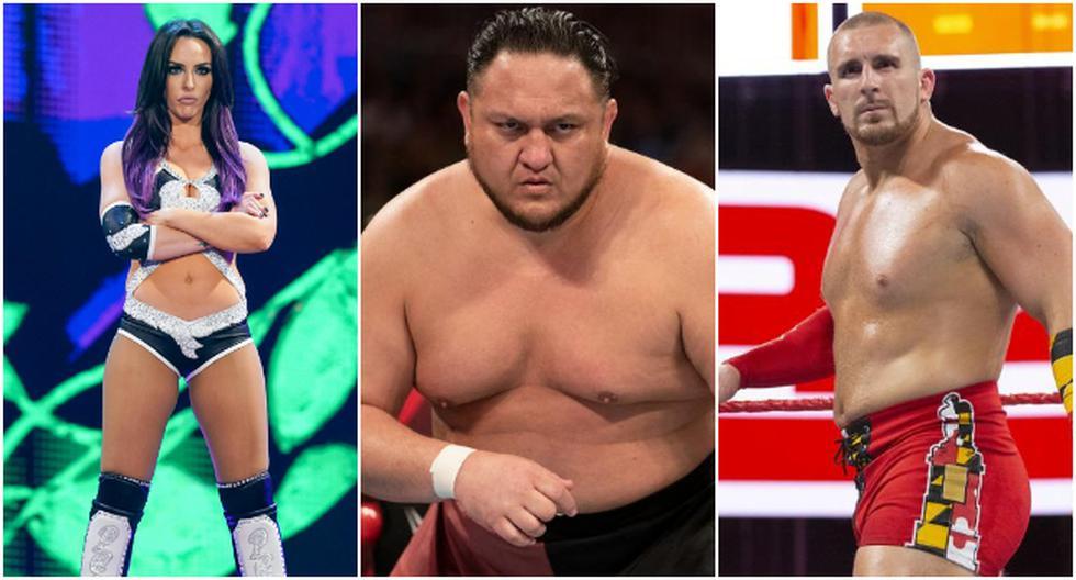 Los luchadores que fueron despedidos de WWE en las últimas horas. (WWE)