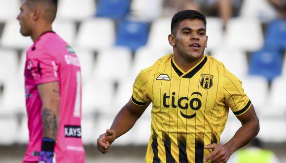 Guaraní venció a Palestino en Santiago por la ida de la Fase 3 de Copa Libertadores 2020.