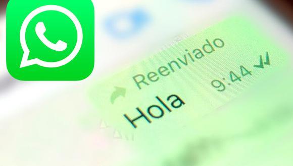 """De esta forma podrás eliminar """"reenviado"""" de tus conversaciones de WhatsApp. (Foto: Depor)"""