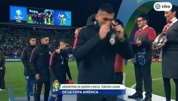 Chile se quedó con el cuarto lugar de la Copa América.
