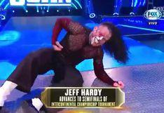 ¡Cerca del título!  Jeff Hardy clasificó a las semifinales del torneo que coronará al nuevo campeón intercontinental [VIDEO]
