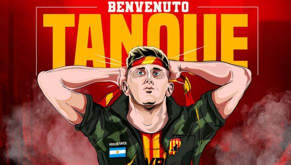 Adolfo Gaich firmó por el CSKA Moscú en agosto del año pasado. (Benevento)