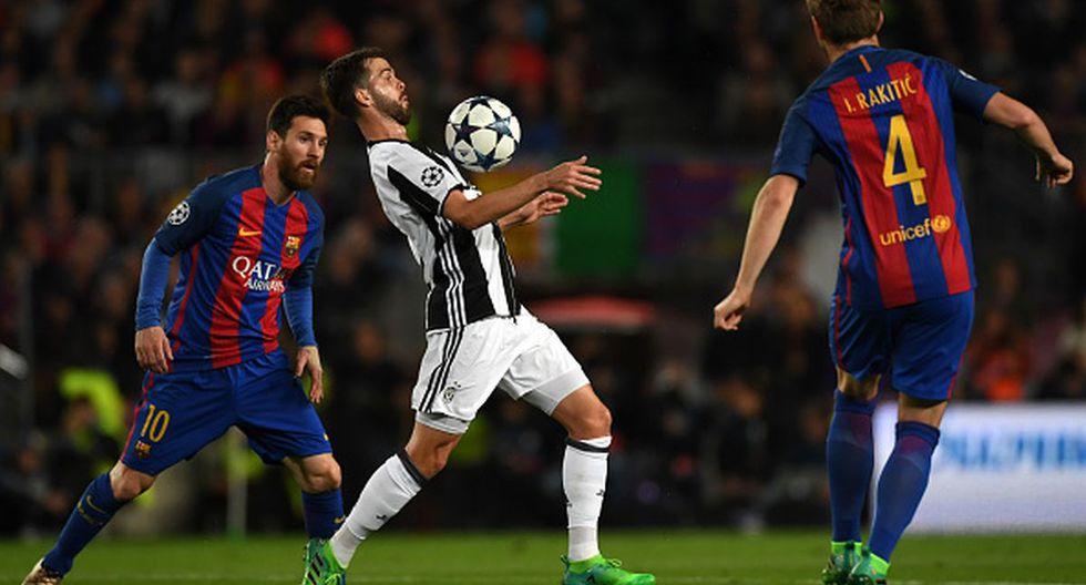 Miralem Pjanic se enfrentó al Barcelona en la  temporada 2016-17 de la Champions. (Foto: Getty Images)