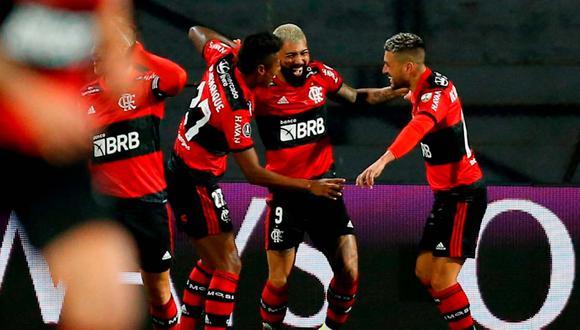 En Asunción, Olimpia cayó ante Flamengo por la ida de cuartos de final de la Copa Libertadores. (Foto: EFE)