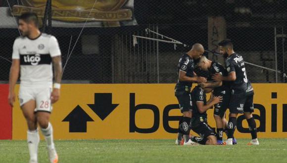 Santos venció a Olimpia por la Copa Libertadores (Foto: CONMEBOL)