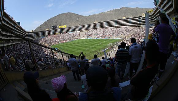 El estadio Monumental de Lima sería la sede de la final de la Copa Libertadores 2019. (Foto: Archivo GEC)