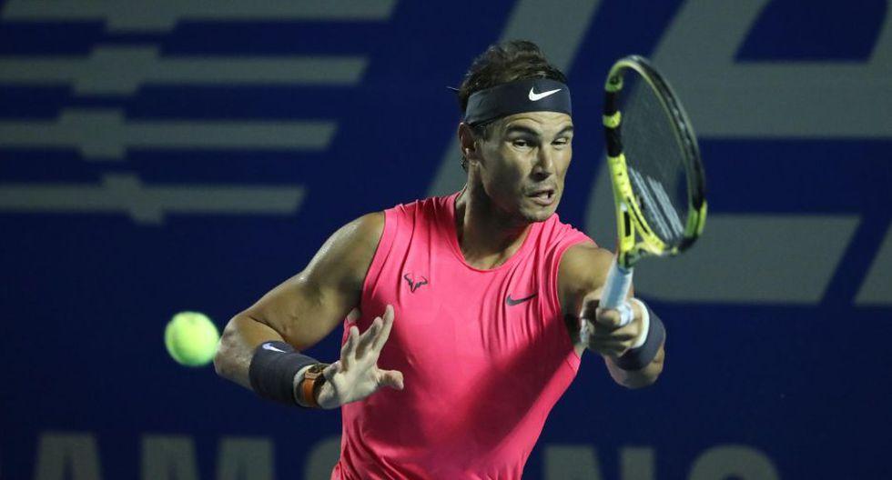 Rafel Nadal es el actual número 2 del mundo del ránking ATP. (Foto: EFE/David Guzmán)