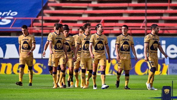Atlético San Luis vs. Pumas se vieron las caras este sábado por la jornada 12 de la Liga MX 2021 (Foto: @PumasMX)