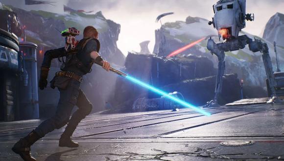 """Juegos online: """"Star Wars Jedi: Fallen Order"""" tiene un descuento del 50% en Steam"""
