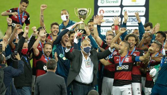 Flamengo se quedó con el Campeonato Carioca. (Foto: Agencias)