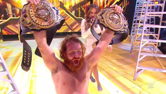 Zayn consiguió una estratégica victoria en su reaparición sobre el cuadrilátero. (Foto: WWE)