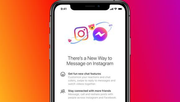 Facebook Messenger e Instagram unen sus chats: olvida cambiar de aplicación. (Foto: Facebook)