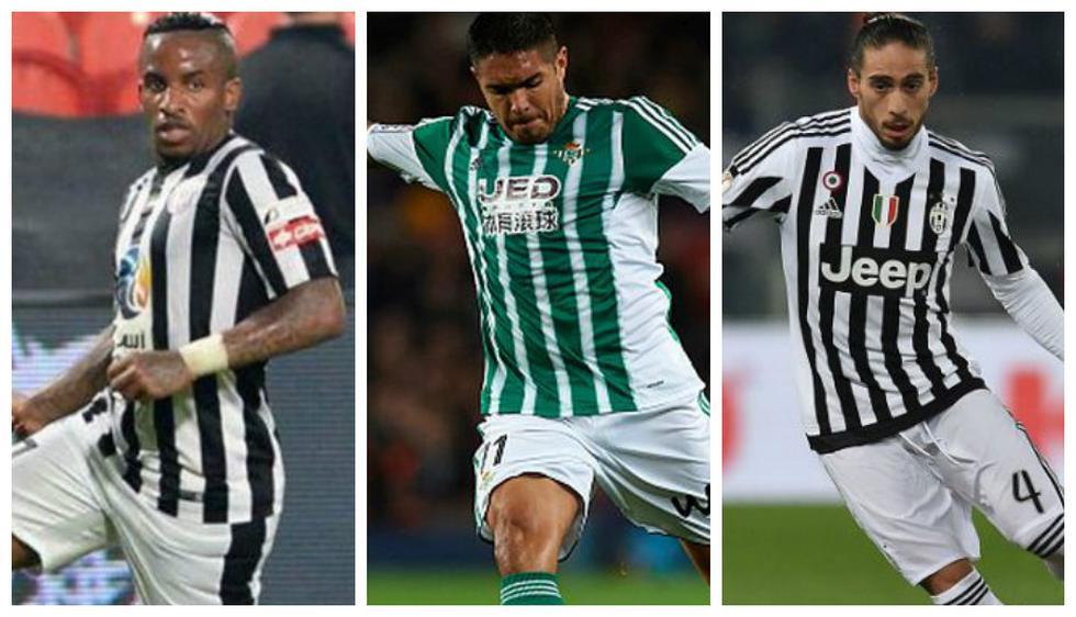Los 10 jugadores más caros, según Transfermarkt, que no tienen equipo. (Getty)