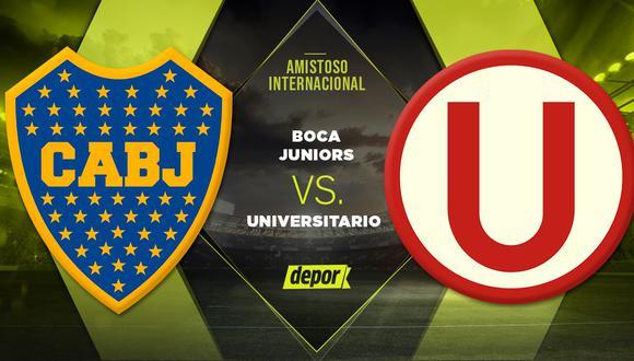 Universitario vs Boca Juniors EN VIVO vía ESPN 2: se enfrentan por la Copa San Juan 2020. (Foto: Depor)