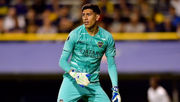 Esteban Andrada llegó a Boca Juniors procedente de Lanús en 2018 (Foto: Getty Images)