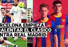 Barcelona empieza a calentar el partido contra Real Madrid con un mensaje desafiante