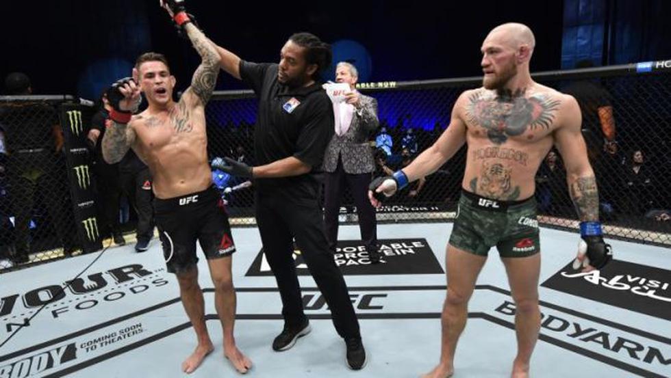 Así quedó el ranking de peso ligero de UFC tras la derrota de McGregor. (UFC/Zuffa LLC)