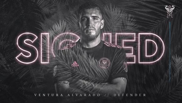 Ventura Alvarado jugará en la Major League Soccer. (Foto: Inter Miami)