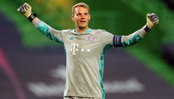 Manuel Neuer obtuvo su segundo título de Champions League con Bayern Múnich. (Foto: AFP)