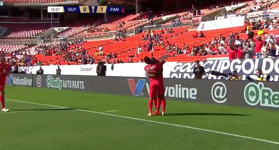Panamá vs. Guyana EN VIVO: GOL Arroyo para el 1-0 por Copa América 2019. (@GoldCup)