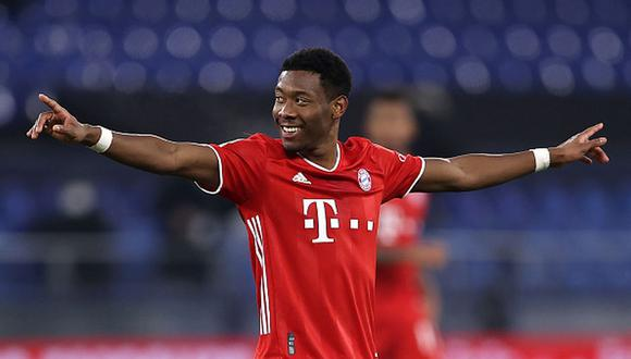 David Alaba termina contrato con el Bayern Munich en junio de 2021. (Getty)