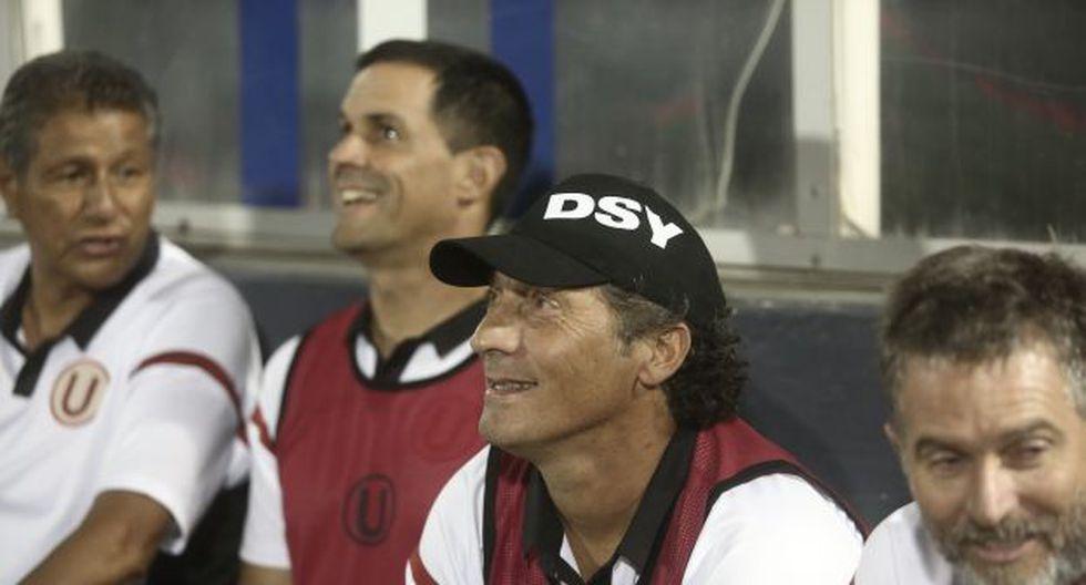 Pedro Troglio dejó a la 'U' en zona de descenso, esta temporada. (Foto: USI)