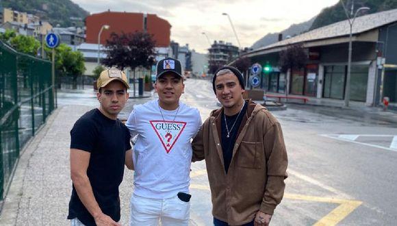 Los hermanos Urrunaga en Andorra (Foto: Difusión)