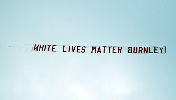 Los autores del mensaje serían hinchas del Burnley. (Foto: AFP)