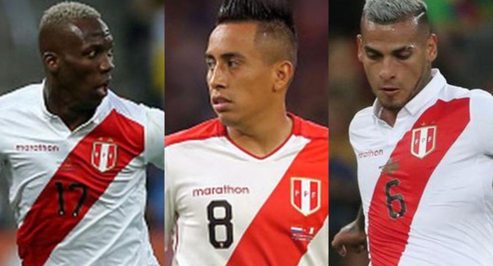 Jugadores de la Selección Peruana que bajaron su valor en el mercado. (Foto: GEC / Agencias)
