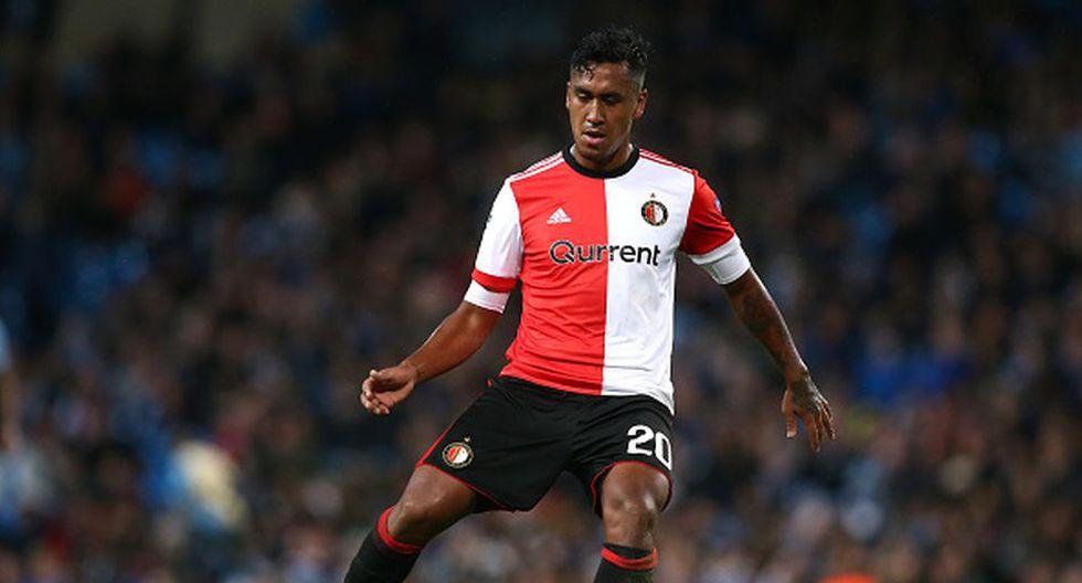 Renato Tapia dejó el Willem II esta temporada para regresar al Feyenoord. (Getty)