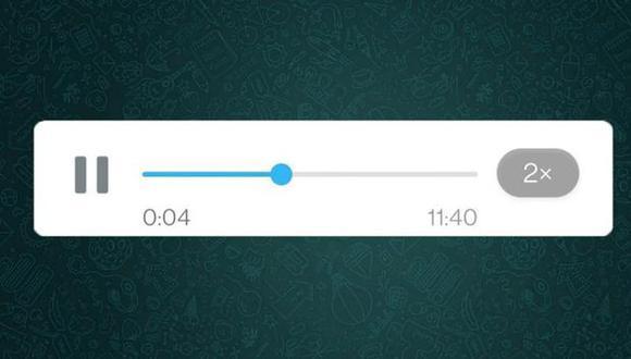 De aprobarse esta función en una futura actualización podrás escuchar tus audios antes de enviarlo (Foto: Mag / GEC)