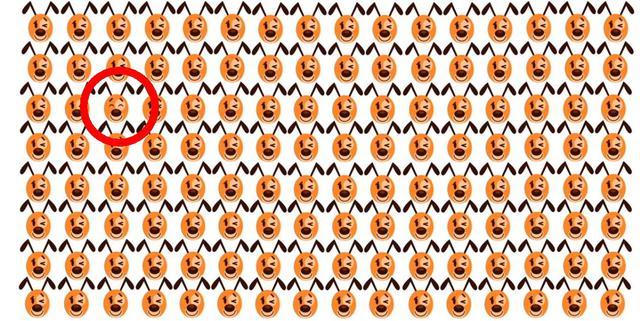Solución: mira dónde se encontraba el emoji de perro diferente al resto en la imagen. (Foto: Facebook/Captura)
