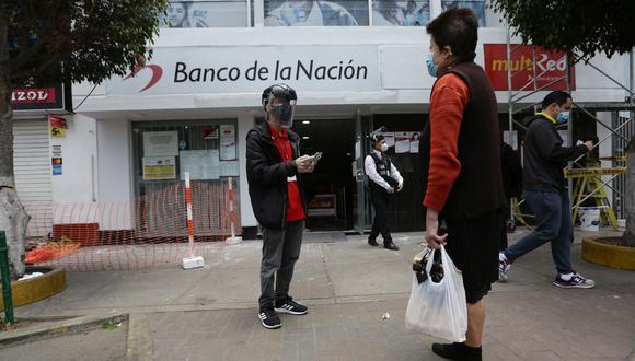 El reparto del bono continuará durante 2021. (Foto: Fernando Sangama   GEC)