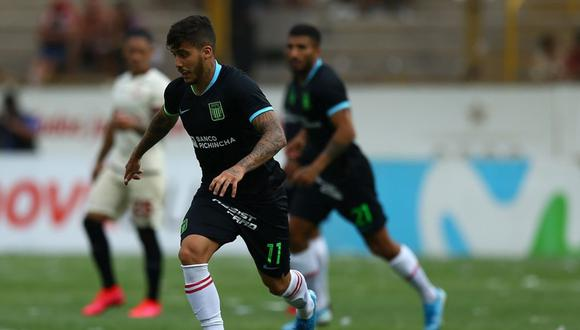 Beto da Silva llegó a Alianza Lima a inicios de año. (Foto: Fernando Sangama / GEC)
