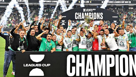 León venció por 3-2 a Seattle Sounders y es campeón de la Leagues Cup 2021. (Foto: Leagues Cup)