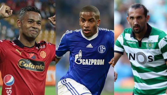 Jugadores que pasaron de Europa a la Liga 1 (Foto: Agencias)