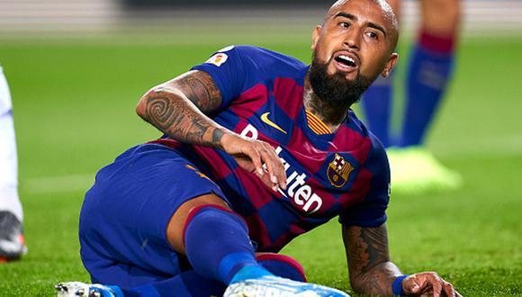 Arturo Vidal tiene contrato en Barcelona hasta mediados de 2021. (Foto: Getty)