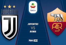 ESPN GRATIS, Juventus vs Roma EN VIVO: sigue el duelo por la Jornada 8 de la Serie A