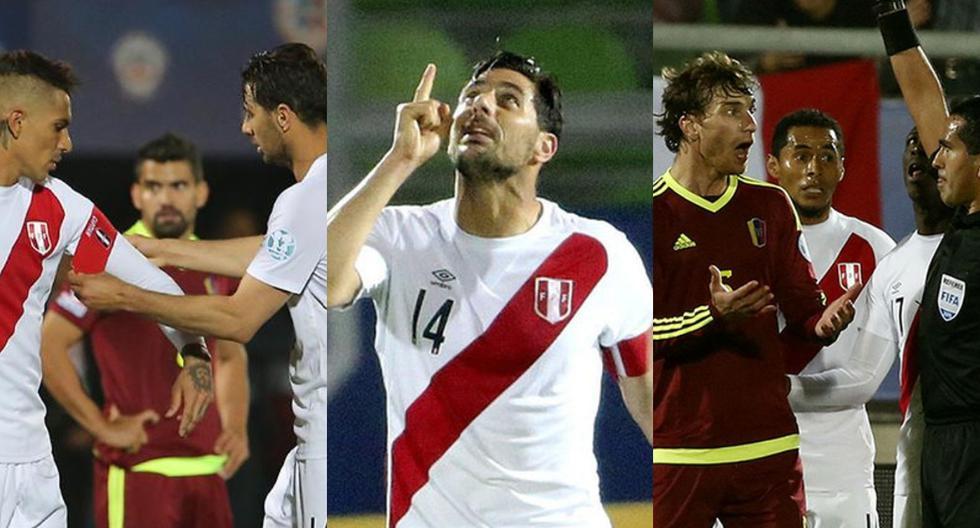 Perú vs. Venezuela: así fue la última vez que se enfrentaron por Copa América (Fotos: Agencias)