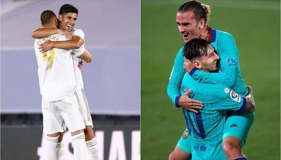 Real Madrid es líder de LaLiga con cuatro puntos más que el Barcelona.