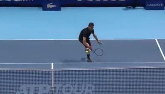 Roger Federer se lució en la Copa de Maestros de Londres. (Foto: ATP)