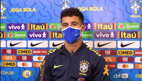 Philippe Coutinho reconoce su buen momento con la selección de Brasil. (Globoesporte.com)