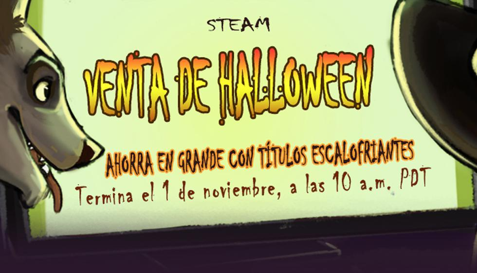 Ofertas de Steam de Halloweeen (Foto: Steam)