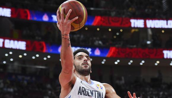 Facundo Campazzo utilizará la camiseta '7' en los Denver Nuggets de la NBA. (Foto: AFP)