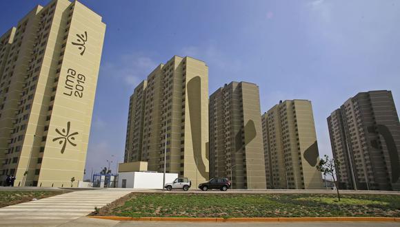 En lo que fue la Villa Panamericana los deportistas tendrá su departamento. (Foto: Andina)